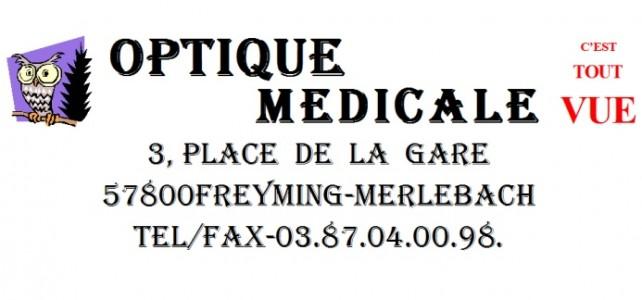 [Sponsor] Optique Médicale